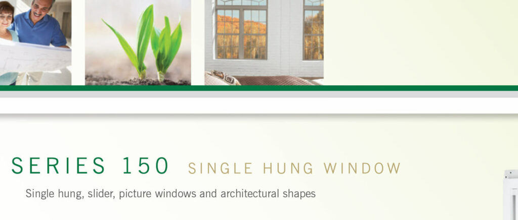 Atrium Single Hung Windows
