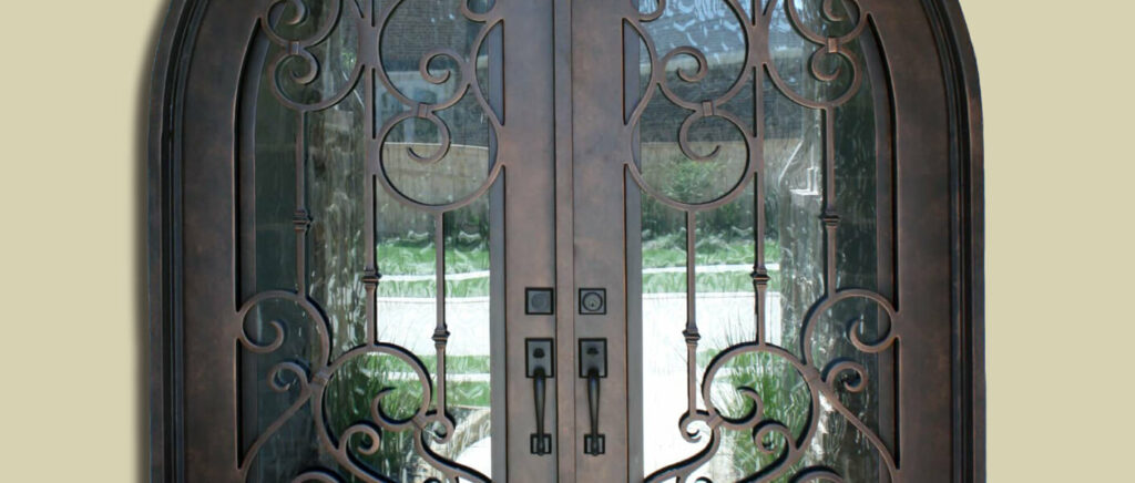 Hoelscher Iron Entry Doors